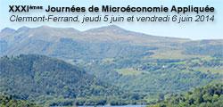 Trente-et-unièmes Journées de Microéconomie Appliquée
